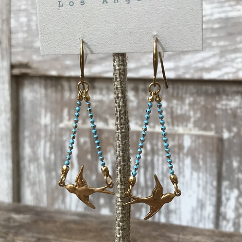 Birds in Flight Earrings