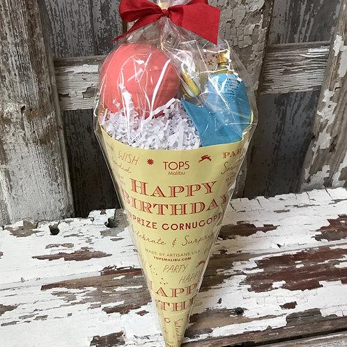 Birthday Surprise Cornucopia