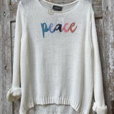 Wooden Ships Peace Summer Sweater