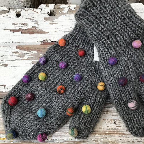 Fair Trade Knitted Mittens