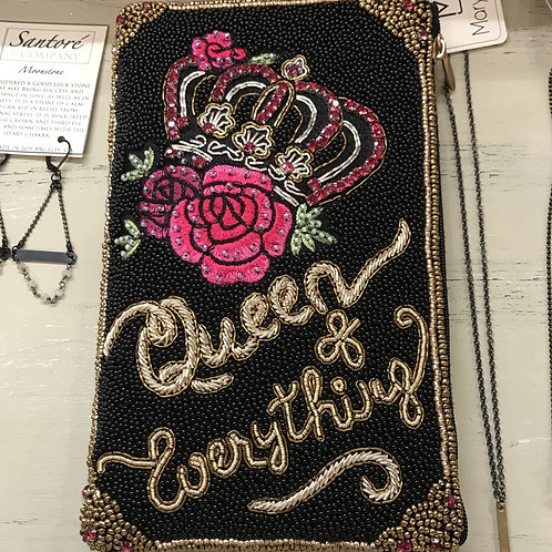 """Mary Frances """"Queen of Everything"""" Clutch"""
