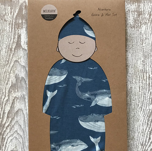 Whale Pattern Baby Goods