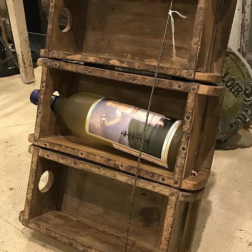 Vintage Brick Mold Wine Rack