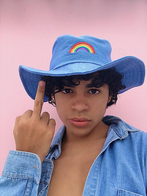 Cowgurl Hat rainbow