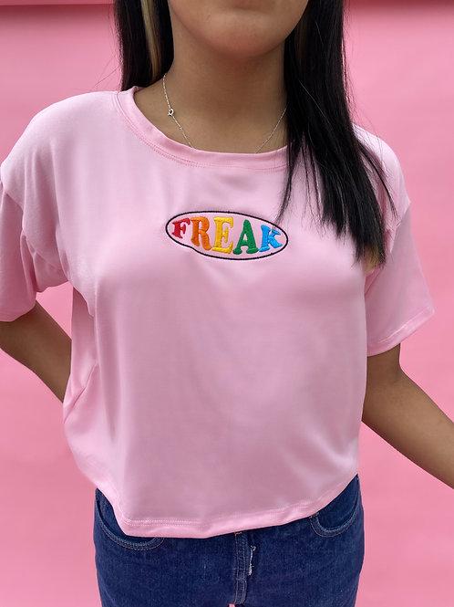 Freak Pink Crop Top