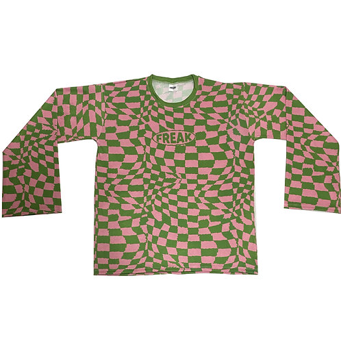 Green Stone Chess Sweater