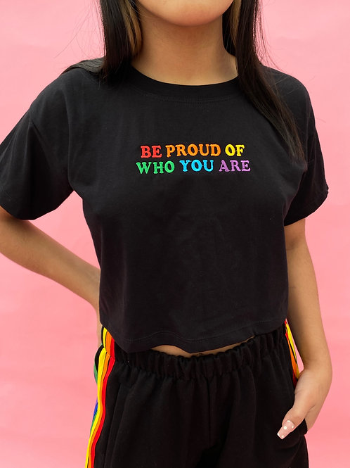 Be Proud Crop Top