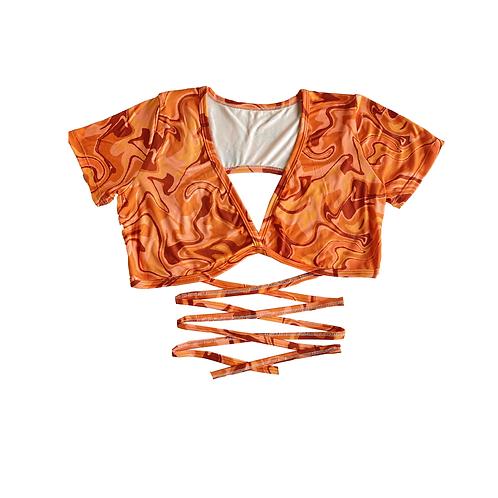 Top Swirl Naranja
