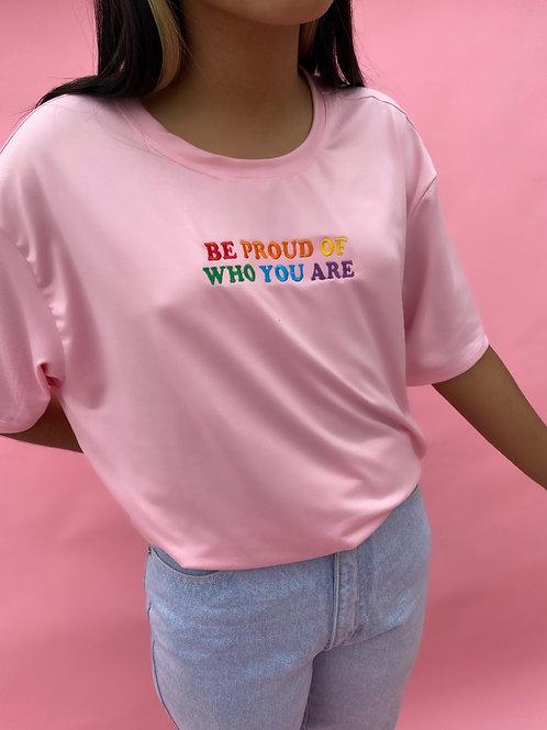 Be Proud Pink Tee