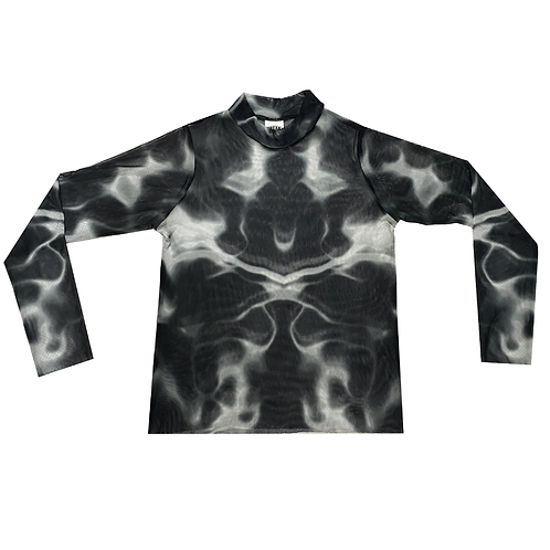Black Nebula #2 Mesh Tee