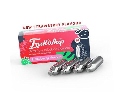 100 x FreshWhip Strawberry