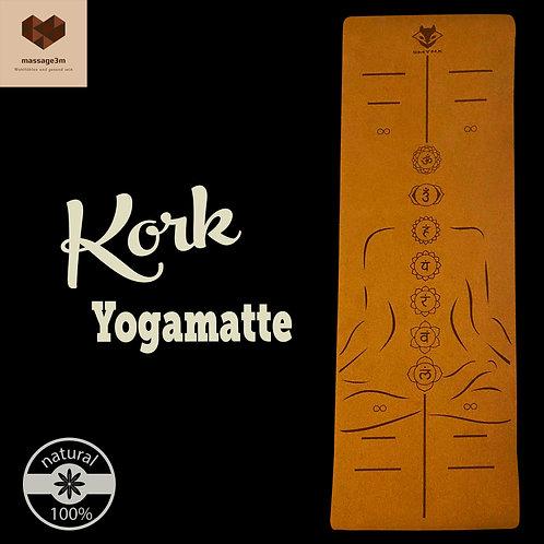 Umweltfreundliche Kork-yogamatte