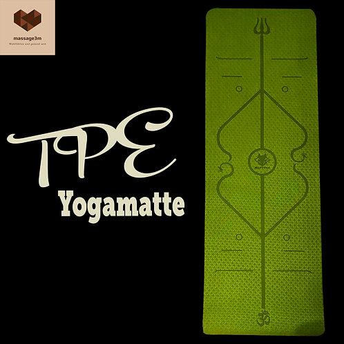 TPE Yogamatte / Gymnastikmatte
