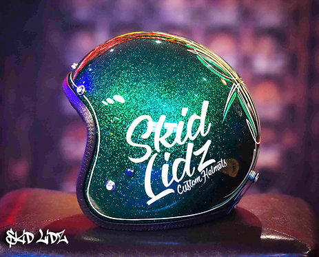 Skid Lidz Pinstripe Collection - Lime Squeezer!