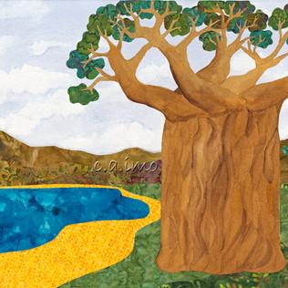 Baobob Trees by the Lake.jpg