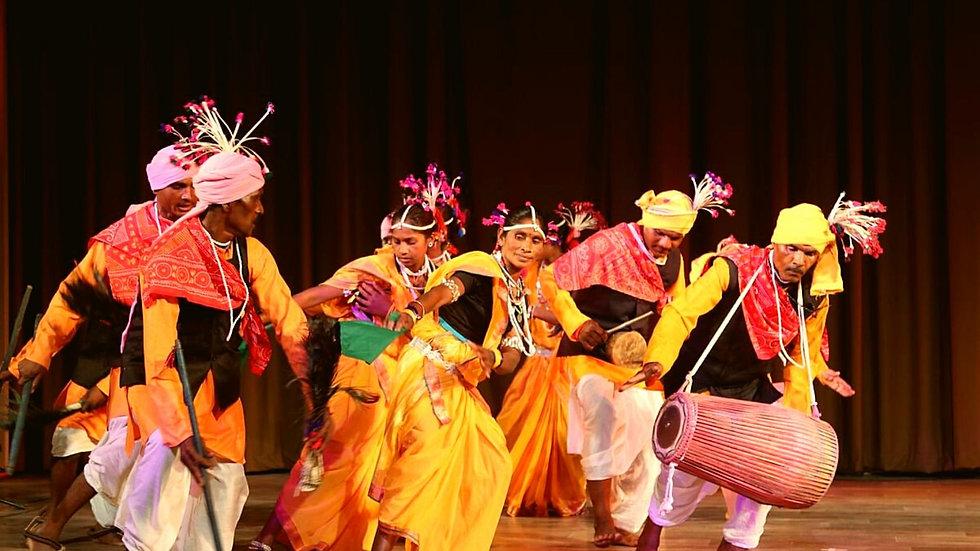 Folk%2FTribal dance performance and cele