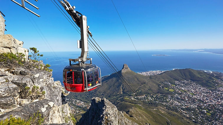 Cape Town-Table Mountain Cable Car Ride.