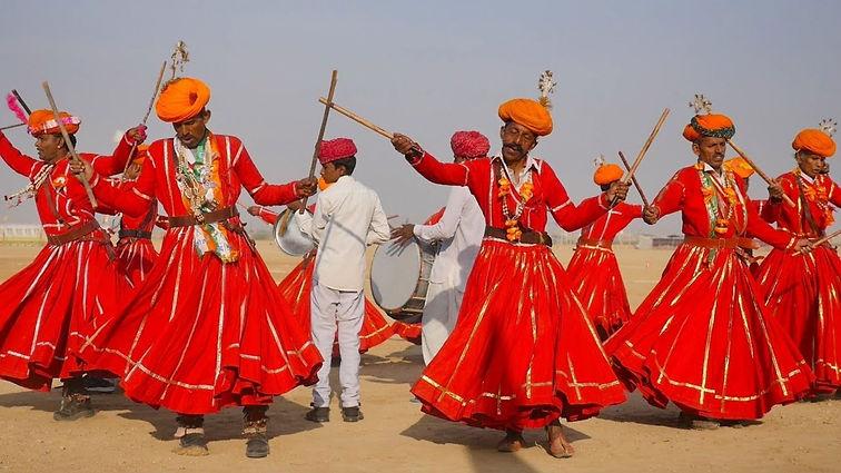 PALI - history of cultural gair dance .j