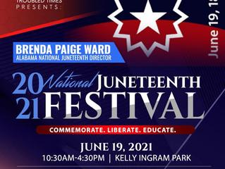 Alabama's National Juneteenth Festival & Parade to be held at Birmingham's Kelly Ingram Park