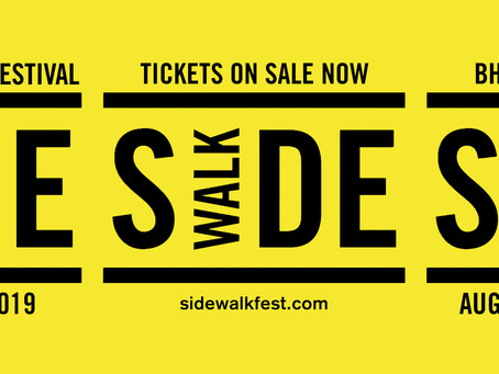 Sidewalk Film Festival August 19-25th 2019