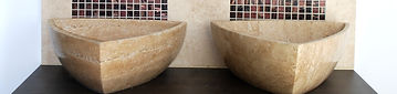Natural Travertine Basins