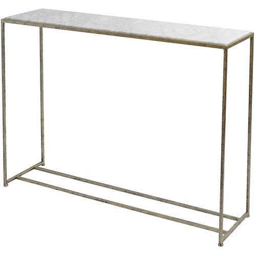 Libra Mylas Console Table with Marble Top