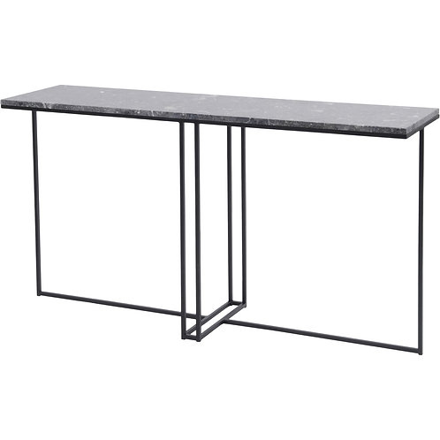 Libra Shoreditch Console Table with Marble Top