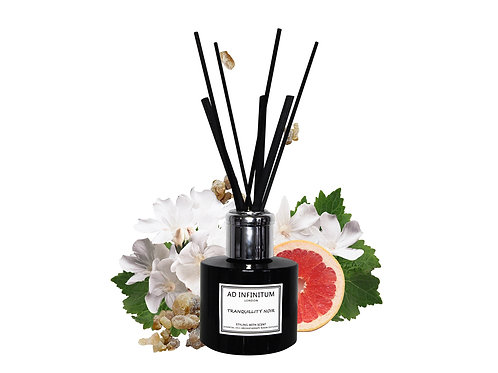 TRANQUILLITY NOIR Pure Essential Oils Reed Diffuser