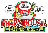 "One of the missions of the PharmHouse Cafe and Market is to help people learn lifestyle changes. We want to help people recognize that lifestyle changes do involve some sacrifice and commitment, but these changes can be done in a way that is fun and tasty. The Cafe menu includes whole food smoothies and juices -- an easy, quick way to get a boatload of nutrients with a ton of flavor. We offer a fresh salad bar - stocked with local and organic vegetables. Salads are available in our ""grab and go"" space, in addition to overnight oats and energy balls. Sandwiches and soups are made with very fresh ingredients.  Foods have become something that contain more chemicals than the medications people use! Our personal health and the health of our community and environment are all victims of these chemically raised foods. Kewaunee County and the surrounding area have many small and local producers, growing, raising and processing food or food products that will help people make better food choices - food choices that can help people be healthier and happier. The PharmHouse Café and Market is the place to find these items!"