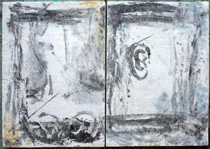 Dyptich, 5 senses, 2014