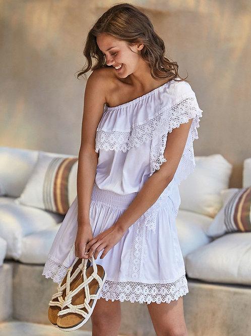 Платье с кружевами Ysabel Mora 85688