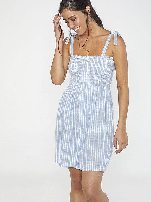 Платье-сарафан в полоску Ysabel Mora 85702