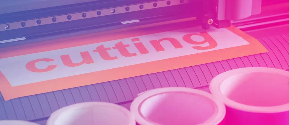 Folienplot für Motive und Schriftzüge als Aufkleber und Sticker.