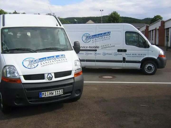 Westerfeld-Fahrzeugbeschriftung-Bielefel