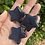 Thumbnail: Blue Goldstone Carved Star
