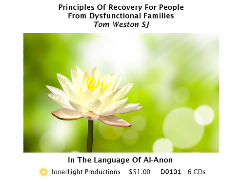 Principles Of Recovery For People  From Dysfunctional Families - Father Tom W.