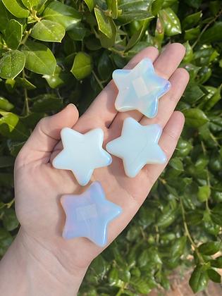 Opalite Carved Star