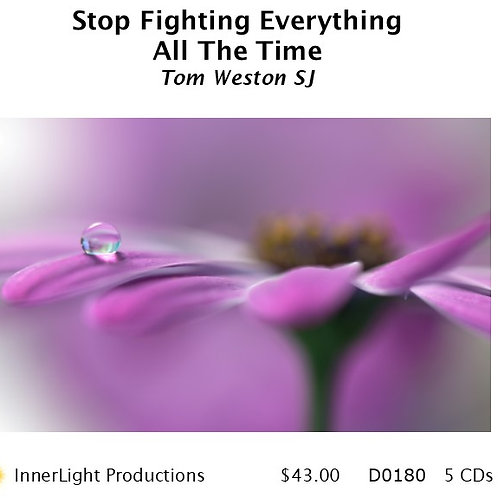 Stop Fighting Everything All The Time - Father Tom W