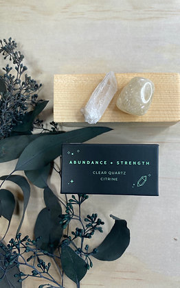 Abundance & Strength Mini Energy Set