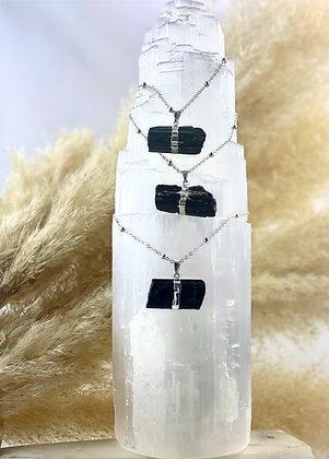 (1) Black Tourmaline Necklace