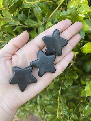Obsidian Carved Star