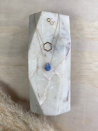 Kyanite  Necklace Set with Earrings