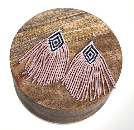 Conch Beaded Earrings