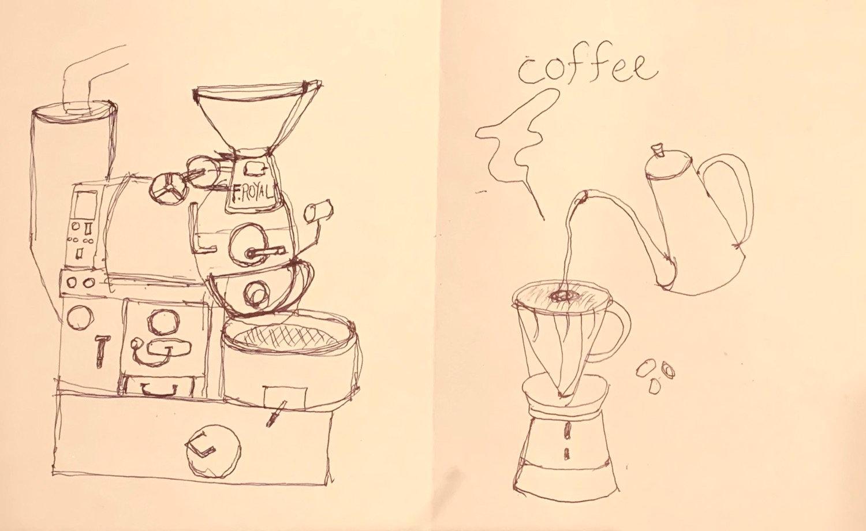 コーヒー講座教室、食育教室