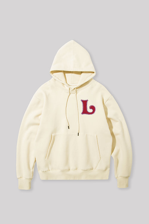"""""""L"""" Hand Embroidered Hoodie"""