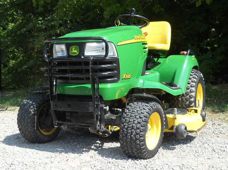 John Deere X595 with Front Blade Athens, Ohio
