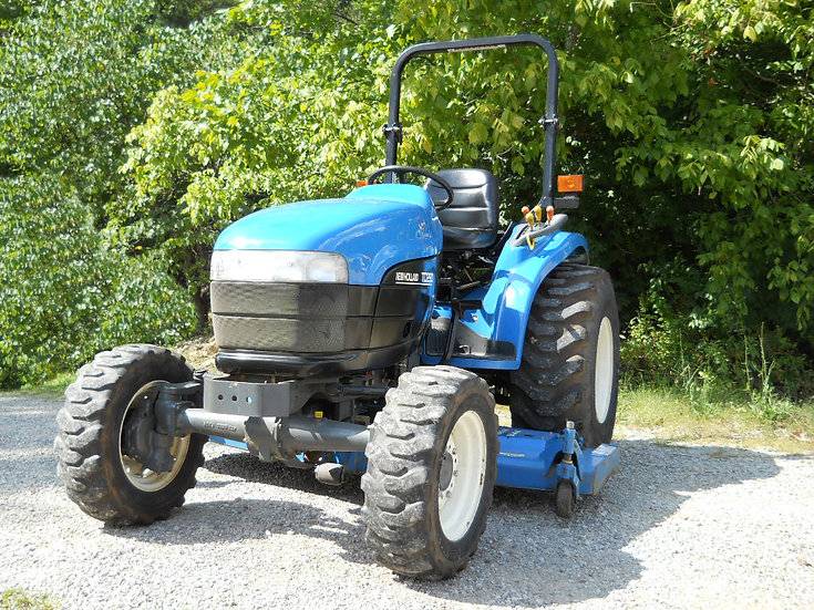 """New Holland TC29D with 72"""" Mower"""