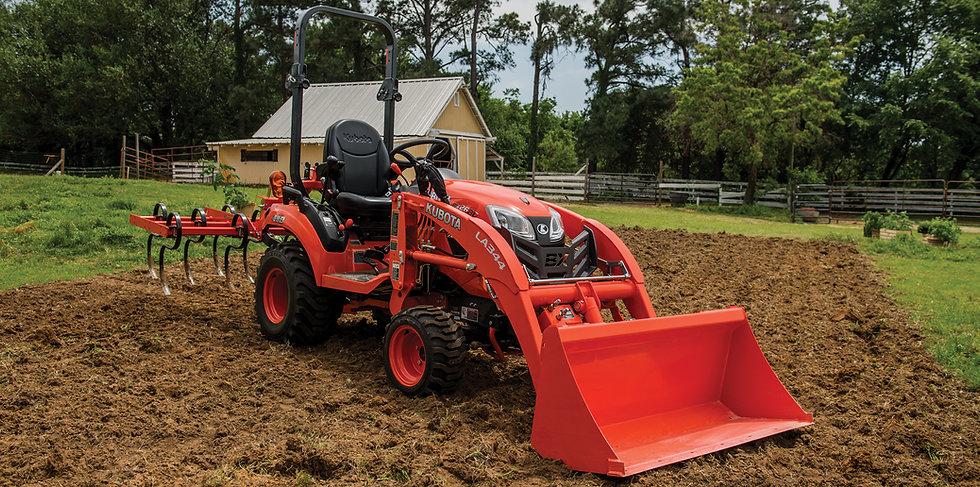 kubota sub compact tractors sub-compact