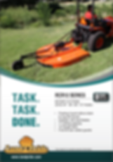 Land Pride Rotary Cutters RCR12
