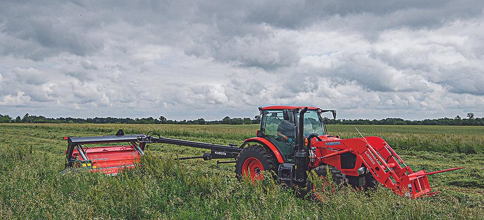 kubota utility tractor m series